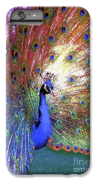 Peacock Wonder, Colorful Art IPhone 6 Plus Case