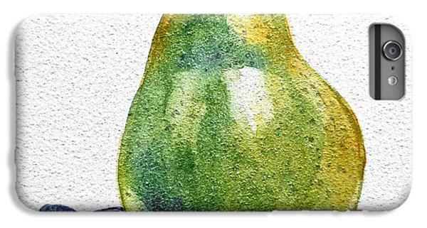 Pear IPhone 6 Plus Case by Irina Sztukowski