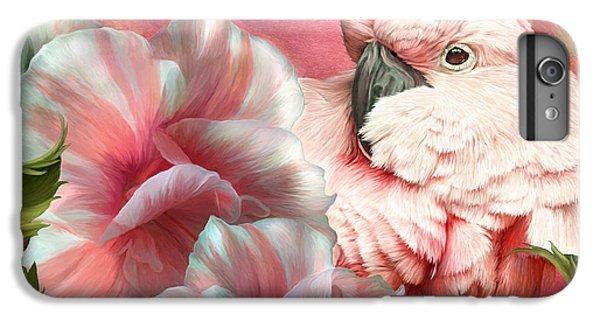 Peek A Boo Cockatoo IPhone 6 Plus Case by Carol Cavalaris