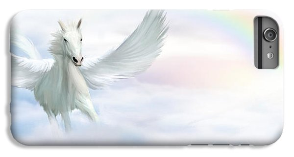 Pegasus IPhone 6 Plus Case by John Edwards