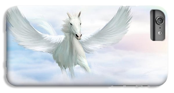 Pegasus iPhone 6 Plus Case - Pegasus by John Edwards