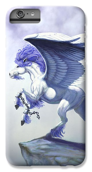 Pegasus Unchained IPhone 6 Plus Case by Stanley Morrison