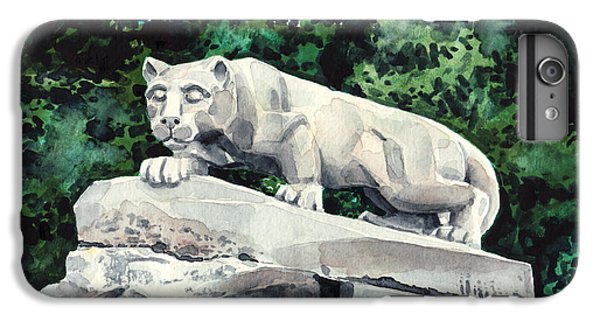 Penn State Nittany Lion Shrine University Happy Valley Joe Paterno IPhone 6 Plus Case by Laura Row