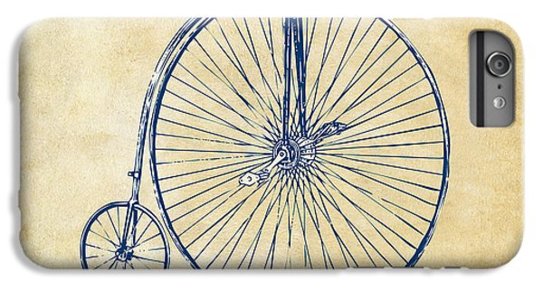 Penny-farthing 1867 High Wheeler Bicycle Vintage IPhone 6 Plus Case by Nikki Marie Smith
