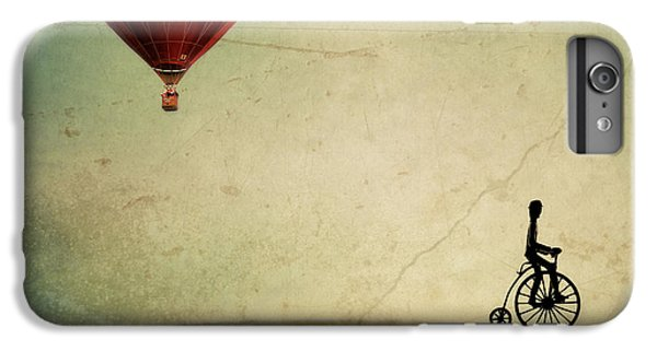 Penny Farthing For Your Thoughts IPhone 6 Plus Case by Irene Suchocki