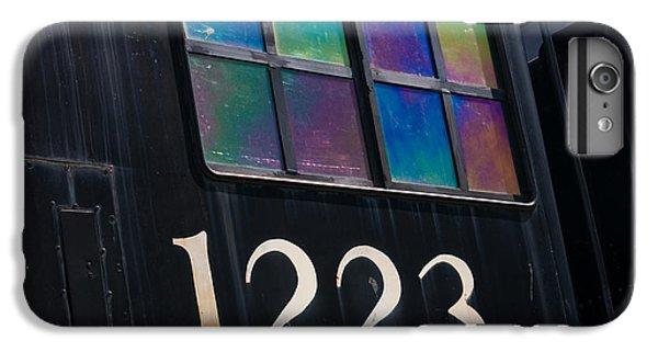 Marquette iPhone 6 Plus Case - Pere Marquette Locomotive 1223 by Adam Romanowicz