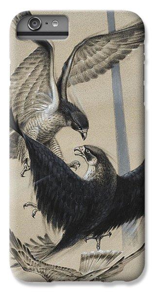 Peregrine Falcon And Kestrel IPhone 6 Plus Case