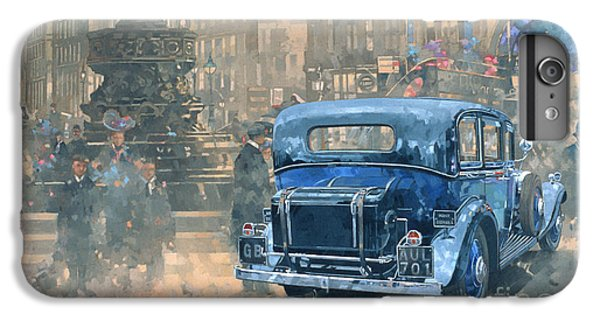 Phantom In Piccadilly  IPhone 6 Plus Case by Peter Miller