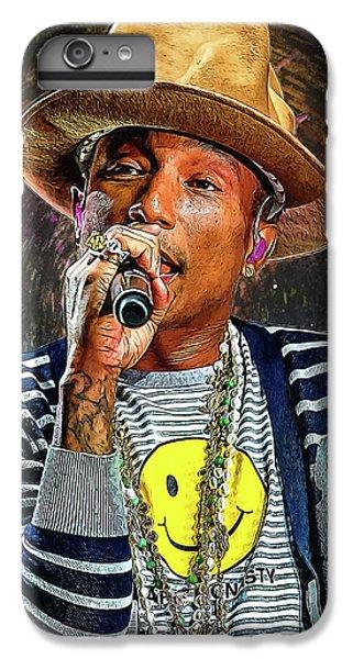 Pharrell Williams IPhone 6 Plus Case
