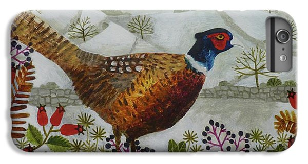 Pheasant And Snowy Hillside IPhone 6 Plus Case