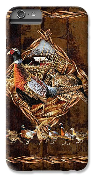 Pheasant iPhone 6 Plus Case - Pheasant Lodge by JQ Licensing