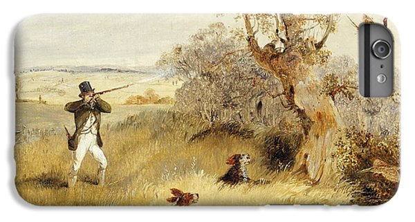 Dog iPhone 6 Plus Case - Pheasant Shooting by Henry Thomas Alken