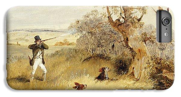 Pheasant Shooting IPhone 6 Plus Case by Henry Thomas Alken