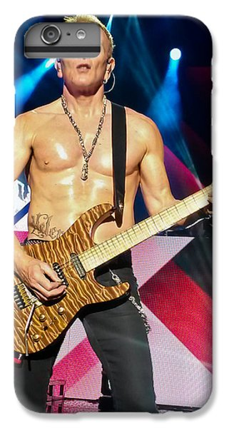 Phil Collen Of Def Leppard 5 IPhone 6 Plus Case