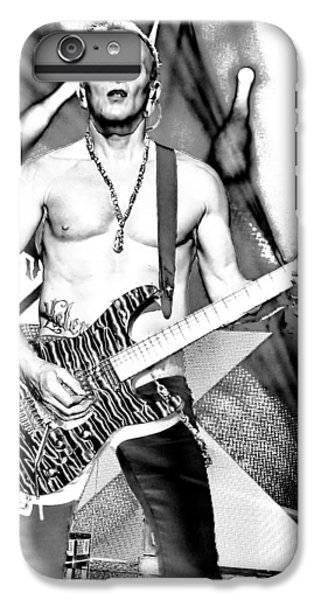 Phil Collen With Def Leppard IPhone 6 Plus Case by David Patterson