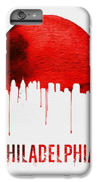 Philadelphia Skyline Redskyline Red IPhone 6 Plus Case