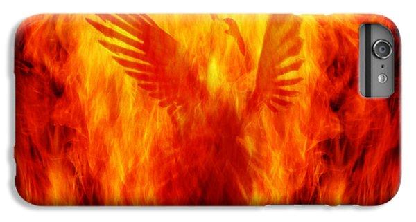 Phoenix iPhone 6 Plus Case - Phoenix Rising by Andrew Paranavitana