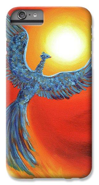 Phoenix iPhone 6 Plus Case - Phoenix Rising by Laura Iverson