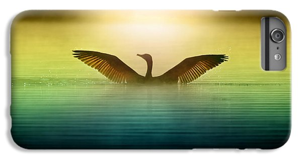 Goose iPhone 6 Plus Case - Phoenix Rising by Rob Blair
