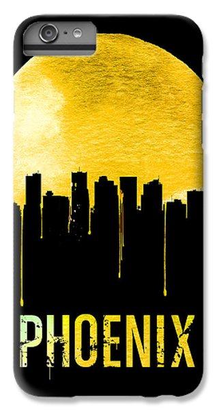 Phoenix iPhone 6 Plus Case - Phoenix Skyline Yellow by Naxart Studio