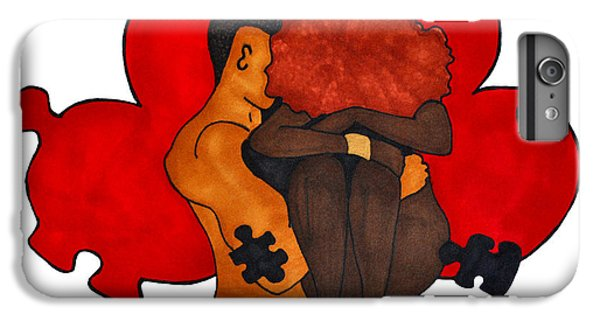 Picking Up The Pieces IPhone 6 Plus Case by Diamin Nicole