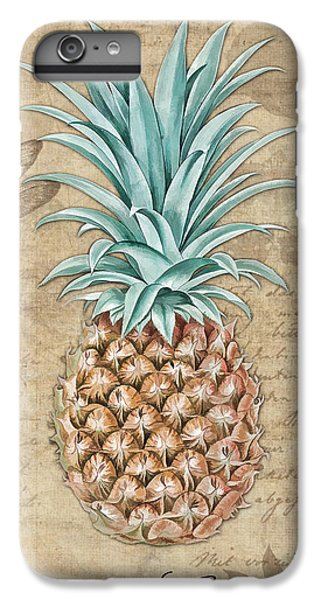 Pineapple, Ananas Comosus Vintage Botanicals Collection IPhone 6 Plus Case