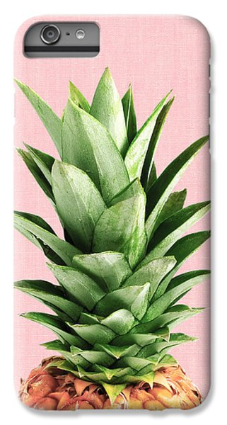 Pineapple And Pink IPhone 6 Plus Case by Vitor Costa