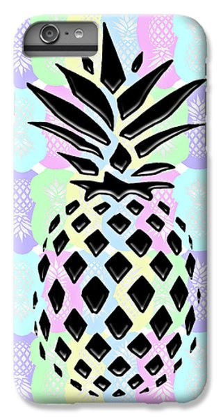 Pineapple Collage IPhone 6 Plus Case by Liesl Marelli
