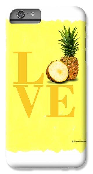 Pineapple IPhone 6 Plus Case by Mark Rogan
