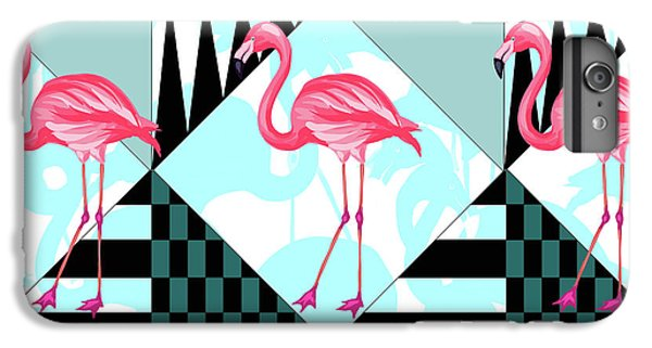 Ping Flamingo IPhone 6 Plus Case by Mark Ashkenazi