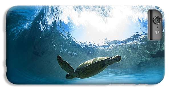 Pipe Turtle Glide IPhone 6 Plus Case by Sean Davey