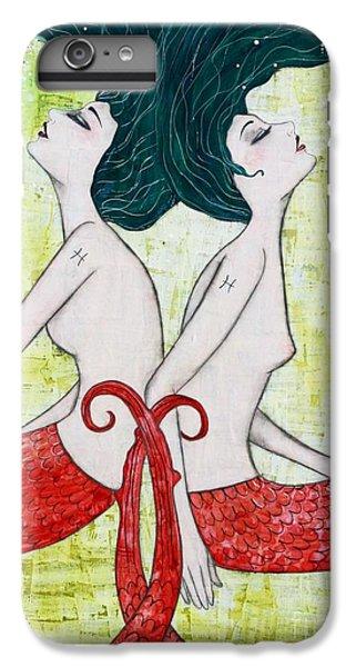 Pisces Mermaids IPhone 6 Plus Case by Natalie Briney