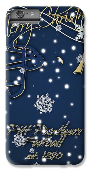 Pitt Panthers Christmas Cards IPhone 6 Plus Case by Joe Hamilton