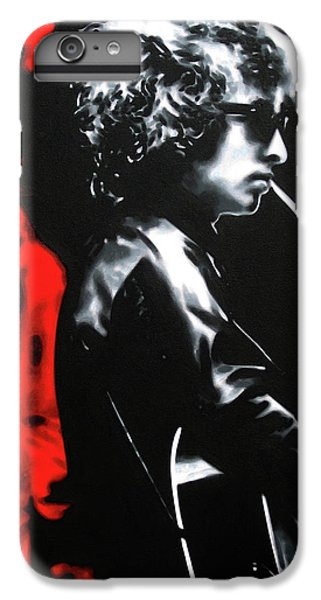 Bob Dylan iPhone 6 Plus Case - Play It Fuckin' Loud by Hood alias Ludzska