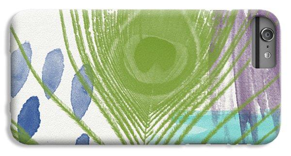 Plumage 4- Art By Linda Woods IPhone 6 Plus Case