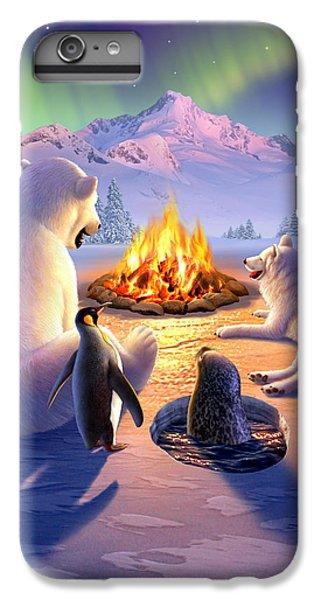Penguin iPhone 6 Plus Case - Polar Pals by Jerry LoFaro