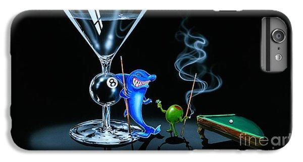 Pool Shark IPhone 6 Plus Case by Michael Godard