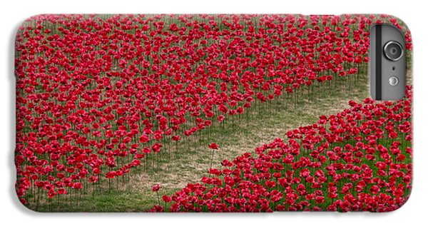 Poppies Of Remembrance IPhone 6 Plus Case