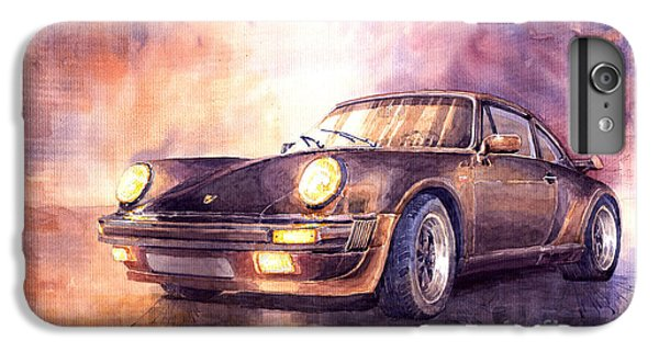 Car iPhone 6 Plus Case - Porsche 911 Turbo 1979 by Yuriy Shevchuk