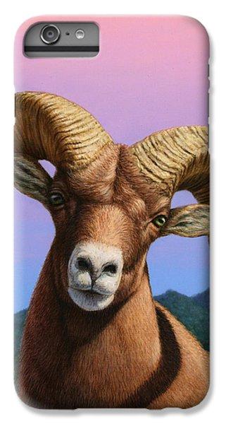 Portrait Of A Bighorn IPhone 6 Plus Case