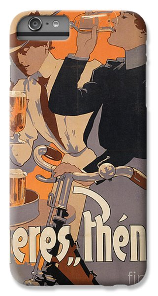 Poster Advertising Phenix Beer IPhone 6 Plus Case by Adolf Hohenstein