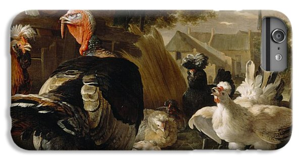 Poultry Yard IPhone 6 Plus Case by Melchior de Hondecoeter