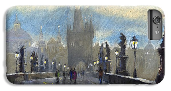 Architecture iPhone 6 Plus Case - Prague Charles Bridge 06 by Yuriy Shevchuk