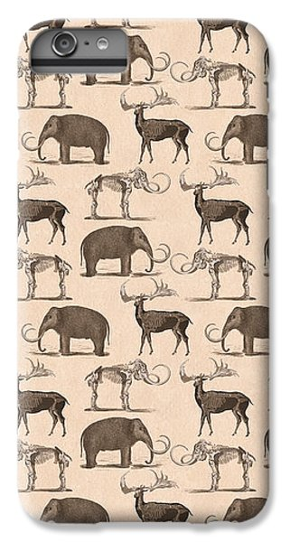 Prehistoric Animals IPhone 6 Plus Case by Antique Images