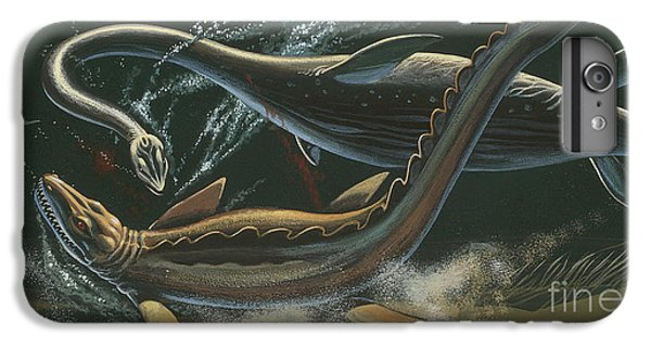 Prehistoric Marine Animals, Underwater View IPhone 6 Plus Case by American School
