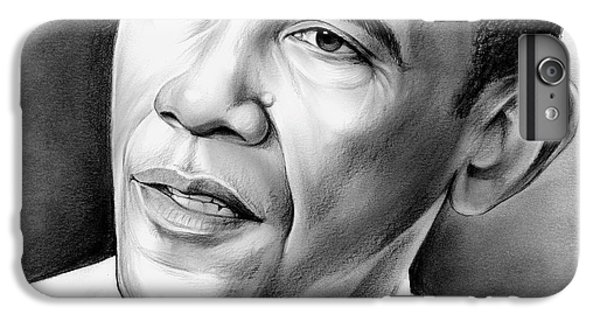 Barack Obama iPhone 6 Plus Case - President Barack Obama by Greg Joens