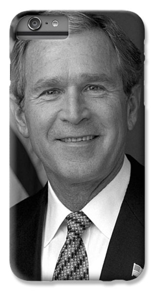 President George W. Bush IPhone 6 Plus Case by War Is Hell Store