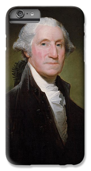Landmarks iPhone 6 Plus Case - President George Washington by War Is Hell Store