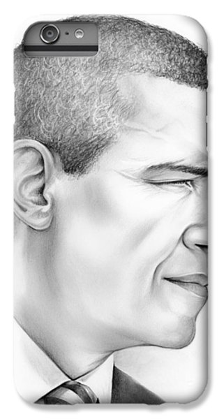 Barack Obama iPhone 6 Plus Case - President Obama by Greg Joens