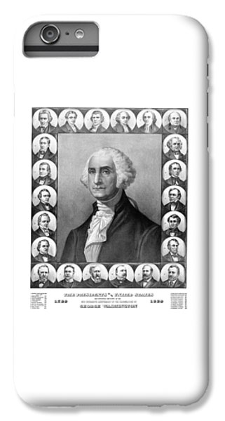 Thomas Jefferson iPhone 6 Plus Case - Presidents Of The United States 1789-1889 by War Is Hell Store